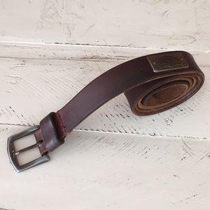 Vintage Levi Strauss Genuine Cowhide Leather Belt